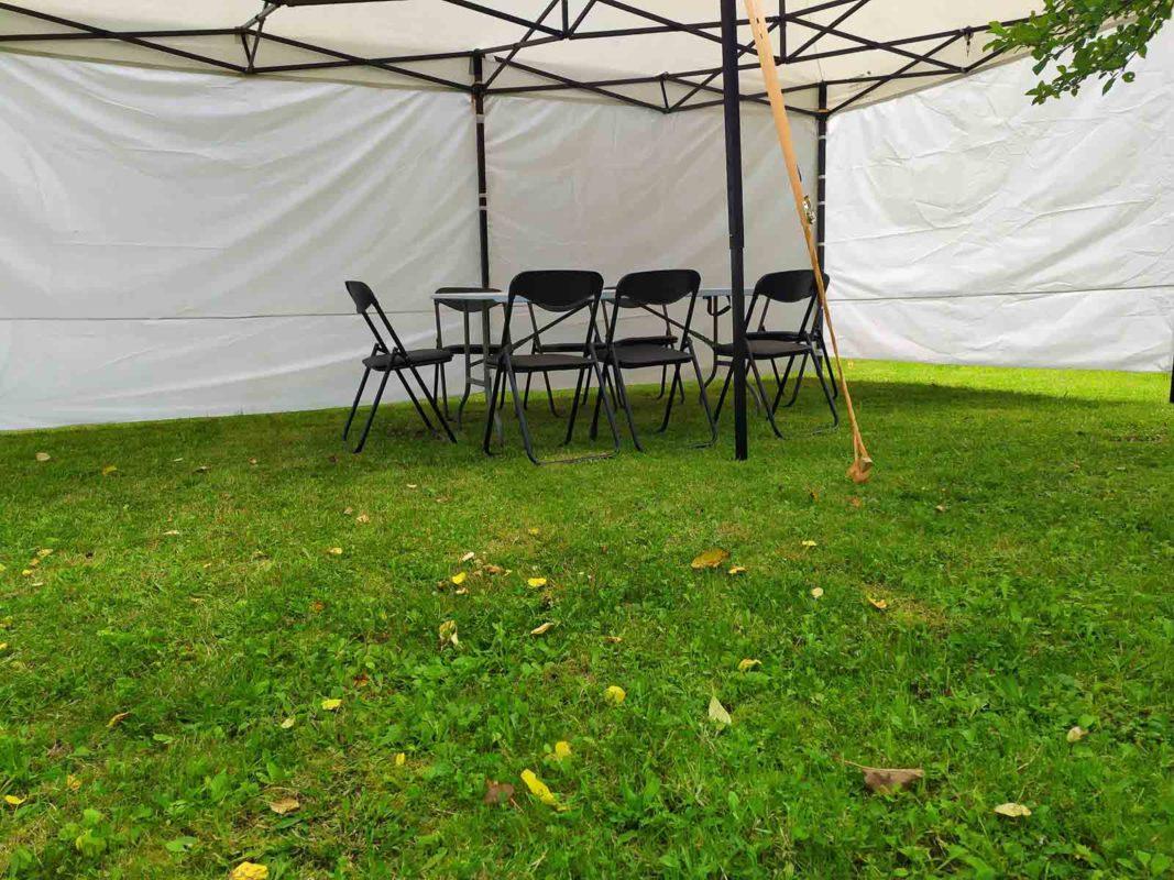 Отдых в шатре 6х3