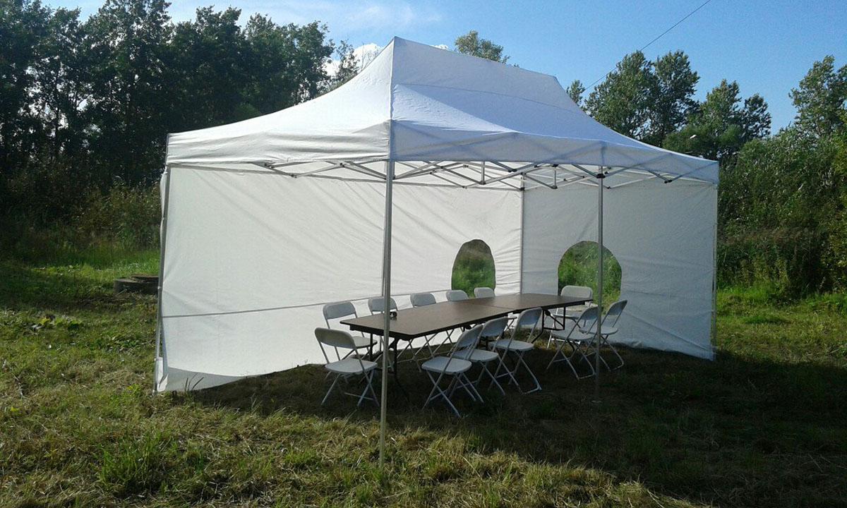аренда шатра и мебели