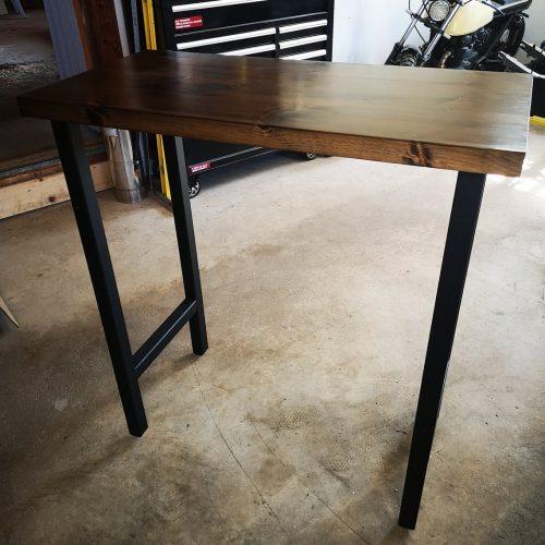 Барный стол лофт Мини